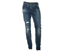 Jeans Evolve mit Destroyed-Effekten in Blau