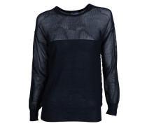 Pullover Sheer Net navy