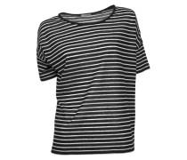 Shirt Yva in Schwarz-Weiß gestreift