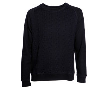 Sweatshirt Steven Panel black