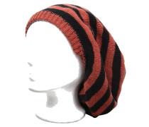 Mütze Aura rostrot/schwarz