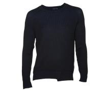 Pullover Simme in Schwarz-Blau