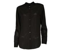 Bluse Drapey Shirt in Schwarz