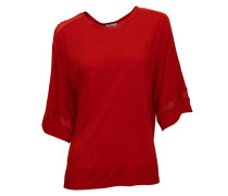 Oversized-Shirt Iliana in Rot