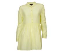 Hemdblusen-Kleid Los neon