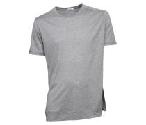 T-shirt Adrian in Grau meliert