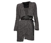 Mantel mit Bindegürtel coloris du type