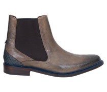 Chelsea Boot im Used Look beige