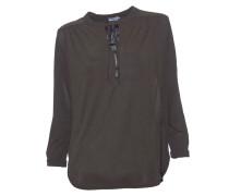 String Bluse aus Viskose marsh