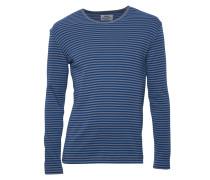 Shirts Tobias Long Duo gestreift in Grau & Blau