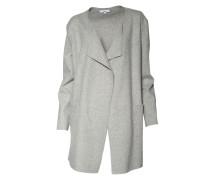 Mantel Emma aus Kaschmir-Mischung grau