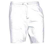 Shorts Lounge in Grau meliert