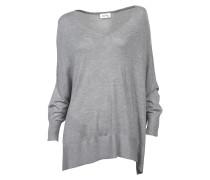 leichter Pullover Brilliant in Hellgrau meliert