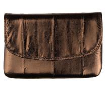 Portemonnaie Handy in Bronze