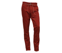Chino-Hose Fifties grena