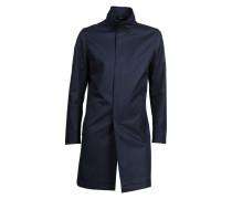 Mantel Egal aus Baumwolle navy