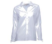 Bluse aus Baumwolle in Weiss