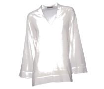 Bluse zanna in Creme-Weiß