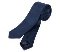 Schmale Krawatte navy