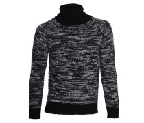Pullover Shaft black/ grey