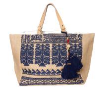 Tasche Savanna Bag braun-dunkelblau