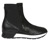 High-Top Sneaker in Schwarz