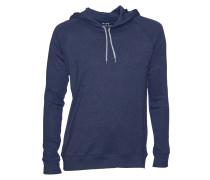 Sweatshirt Star mit Kapuze dunkelblau-grau