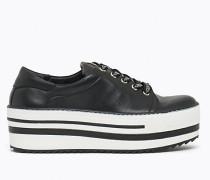 Sneakers aus Kalbsnappa