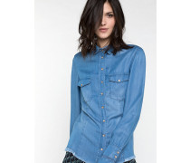 Bluse aus Tencell
