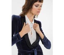 Jacke aus Stretch-Samt
