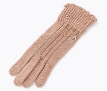Handschuhe aus Viskose-, Woll- und Kaschmirgemisch