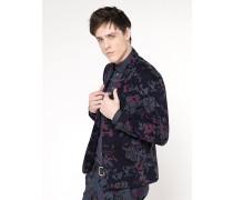 Klassische Jacke mit 2 Knöpfen aus Baumwollflanell mit Stretch