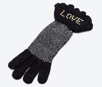 Handschuhe mit Nieten