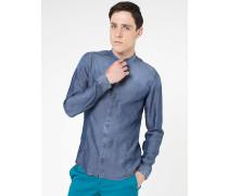 Hemd aus Denim-Tencel