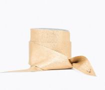 Schärpe aus laminiertem Leder
