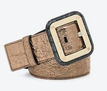 Gürtel aus laminiertem Leder