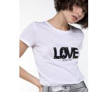 T-Shirt mit Logo-Aufdruck