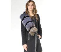 Mantel aus Wollstoff