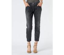 Ergonomische Jeans mit tiefem Schritt aus Stretch-Denim
