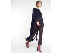 Hose aus Wollgemisch mit Stretch