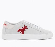Sneakers aus Sämischleder