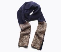 Langer Schal aus Wolle und Alpaka