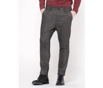 Hose aus Flanell mit Stretch