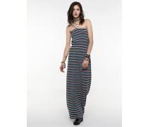 Langes Kleid aus Viskosestretch-Jersey