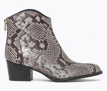 Cowboystiefel aus Leder