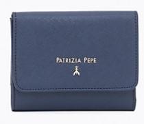 Portemonnaie aus Leder in Saffian-Ausführung