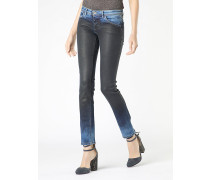 Skinny-5-Pocket-Jeans aus Stretch-Denim