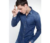 Hemd aus Baumwolldenim