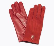 Handschuhe aus Leder und Waschleder