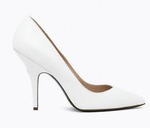 Dekolletierter Schuh aus Wildleder
